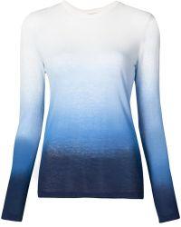 Michael Kors - Ombre Long Sleeve T-shirt - Lyst