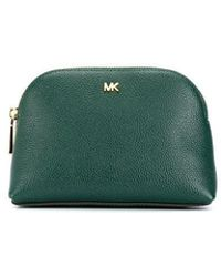 Lyst - MICHAEL Michael Kors Travel Pouch Trio in Black d1e094c379ef4