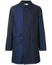 Marni - Pinstriped Coat - Lyst