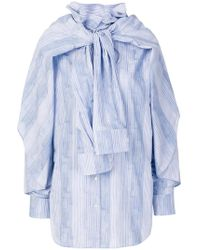 Y. Project - Oversized Sleeve Shirt - Lyst
