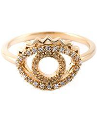 KENZO - 'eye' Ring - Lyst
