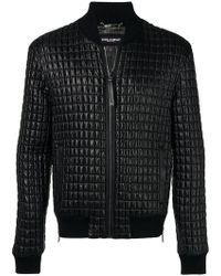 Dolce & Gabbana - Gesteppte Lederjacke - Lyst