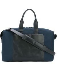 Troubadour - Fabric + Leather Weekender - Lyst