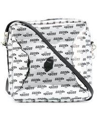 Golden Goose Deluxe Brand - Printed Logo Crossbody Bag - Lyst