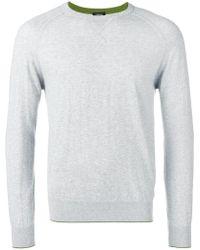 Z Zegna - Sweatshirt mit schmalem Schnitt - Lyst