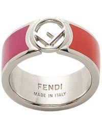 513cf3a0fd0c Lyst - Fendi Ring in Purple