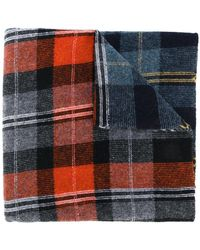 Stella McCartney - Checked Scarf - Lyst