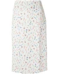 Olympiah - Printed Pencil Skirt - Lyst