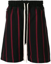 Represent - Striped Track Shorts - Lyst