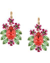 Dolce & Gabbana - Fiori Earrings - Lyst