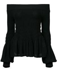 Jonathan Simkhai - Off Shoulder Sweater - Lyst