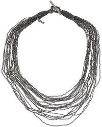 Fabiana Filippi - Multi-strand Necklace - Lyst