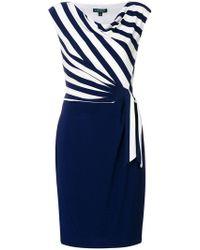 Ralph Lauren - Lauren Sadira Cap Sleeve Day Dress - Lyst