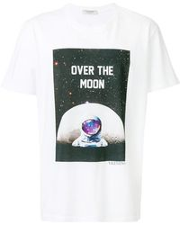 Valentino - Over The Moon Print T-shirt - Lyst