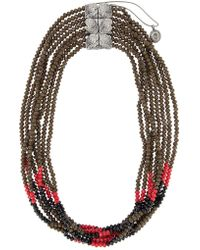 Camila Klein - Embellished Necklace - Lyst