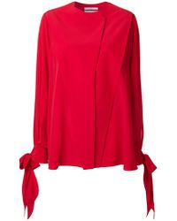 Givenchy - Bow-tied Sleeve Blouse - Lyst