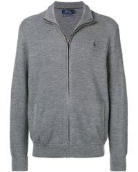 Polo Ralph Lauren - Full-zipped Sweatshirt - Lyst