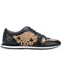 Tory Burch - Embroidered Brielle Sneakers - Lyst