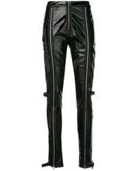 Danielle Guizio - Front Zipped Trousers - Lyst
