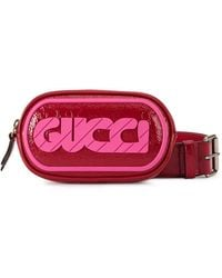 Gucci - Front Logo Belted Purse - Lyst