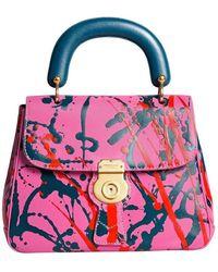 Burberry - Medium Splash Dk88 Top Handle Bag - Lyst 02f0a97a759ed