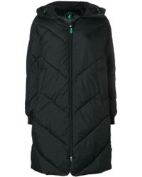 Save The Duck - Hooded Parka Coat - Lyst