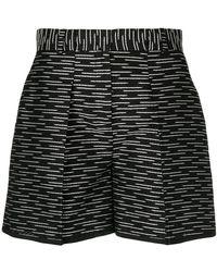 Victoria, Victoria Beckham - Patterned Shorts - Lyst