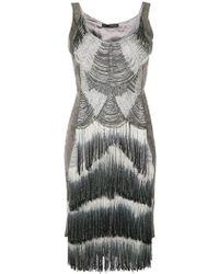 Rubin Singer - Hand Embroidered Fringe Dress - Lyst