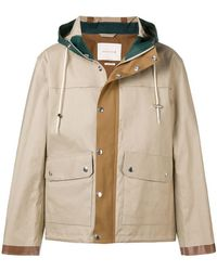 Mackintosh - Buttoned Short Raincoat - Lyst