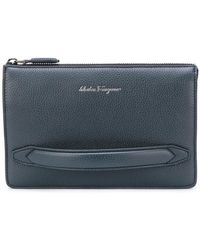 Ferragamo - Firenze Clutch Bag - Lyst