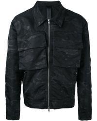Odeur - 'box' Camouflage Jacket - Lyst