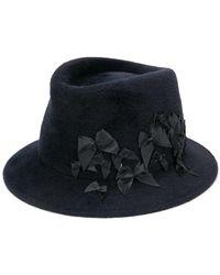 Maison Michel - Bow Embellished Hat - Lyst