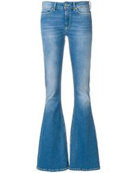 Dondup - Washed Flared Jeans - Lyst