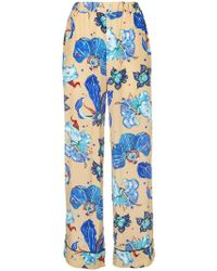 Romance Was Born - Electro Orchid Pyjama Trousers - Lyst