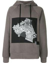 Public School - Printed Hooded Sweatshirt - Lyst
