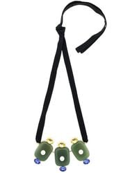 Marni - Crystal Pearl Embellished Necklace - Lyst
