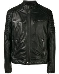 Peuterey - Buttoned Collar Jacket - Lyst