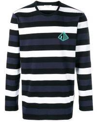 Les Benjamins - Crochaia Striped T-shirt - Lyst