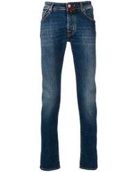 Jacob Cohen - Stonewashed Jeans - Lyst