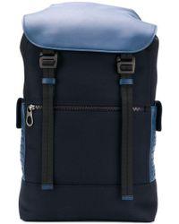 Bottega Veneta - Hi-tech Canvas Backpack - Lyst