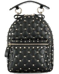 Valentino - Garavani Rockstud Spike Mini Backpack - Lyst