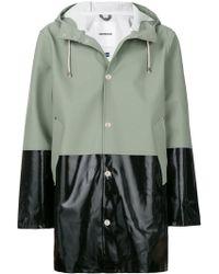 Stutterheim - Colour Blocked Raincoat - Lyst