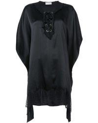 Faith Connexion - Lace Detail Dress - Lyst