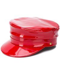 Manokhi - Biker Hat - Lyst