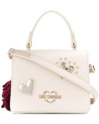 4035606013c Love Moschino Canvas Tote - Save 34% - Lyst