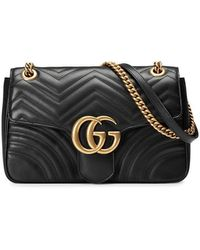 Gucci - GG Marmont 2.0 Medium Quilted Shoulder Bag - Lyst