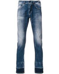 Frankie Morello - Slim-fit Distressed Jeans - Lyst