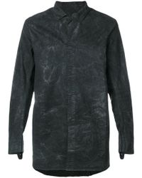 Boris Bidjan Saberi 11 - Distressed Classic Shirt - Lyst