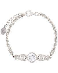 V Jewellery - Triple Strand Bracelet - Lyst