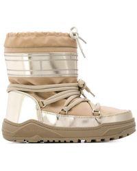Tommy Hilfiger - Pvc Trim Snow Boots - Lyst
